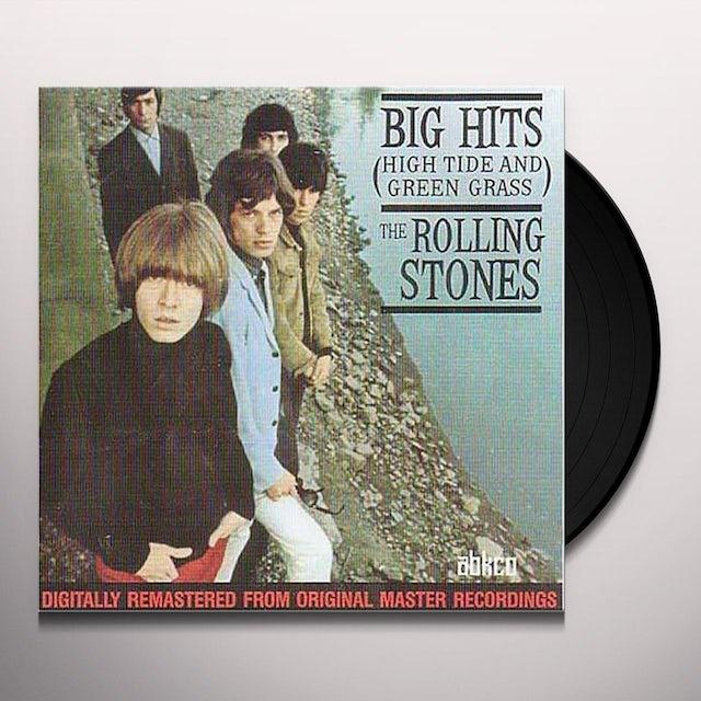 The Rolling Stones BIG HITS: HIGH TIDE & GREEN GRASS Vinyl Record