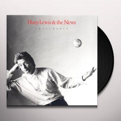 Huey Lewis & The News SMALL WORLD Vinyl Record
