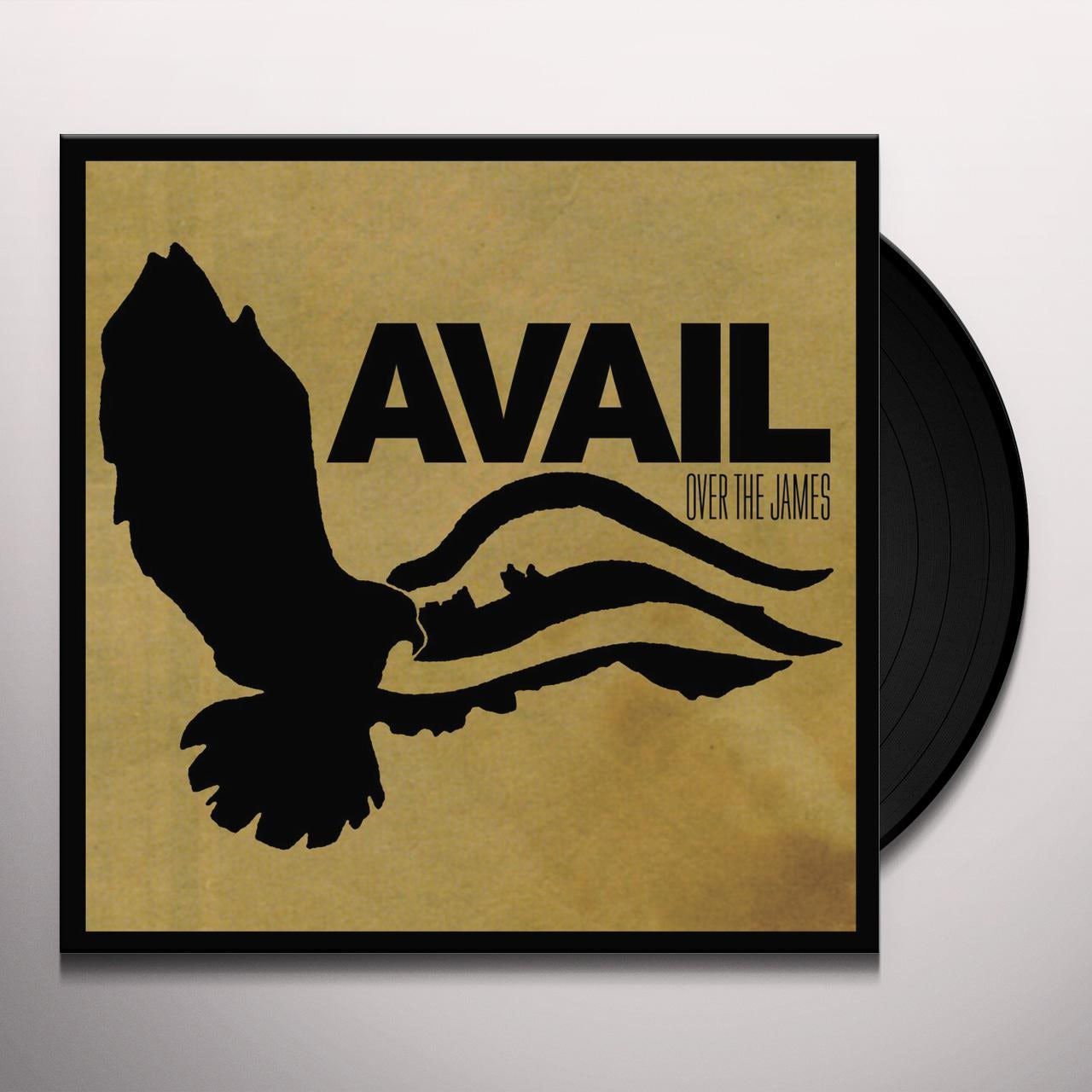 Avail Over The James Vinyl Record