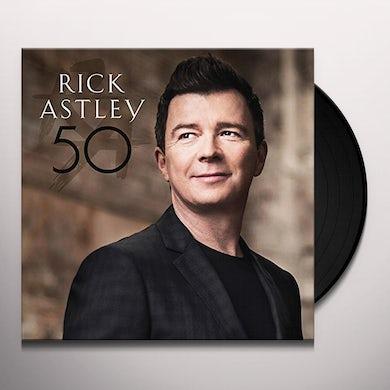 Rick Astley 50 Vinyl Record