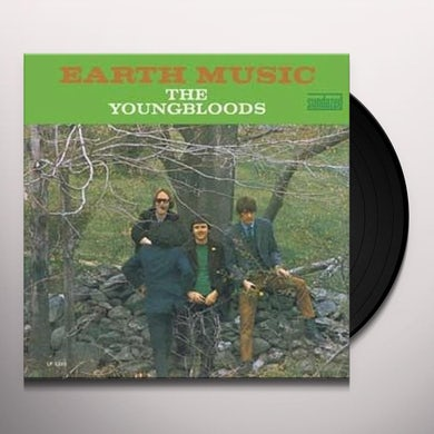 The Youngbloods EARTH MUSIC Vinyl Record