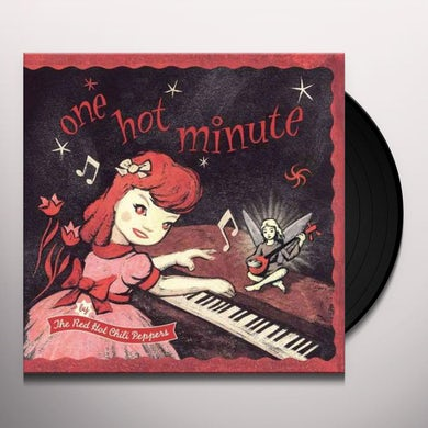 Red Hot Chili Peppers ONE HOT MINUTE Vinyl Record