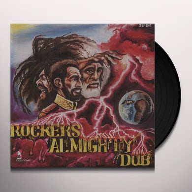 King Tubby ROCKER'S ALMIGHTY DUB Vinyl Record