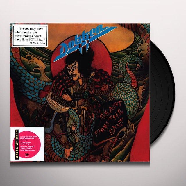 Dokken BEAST FROM THE EAST Vinyl Record
