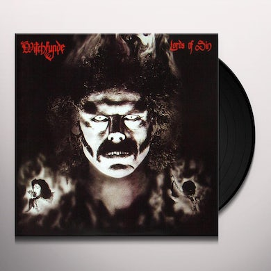 Witchfynde LORDS OF SIN Vinyl Record