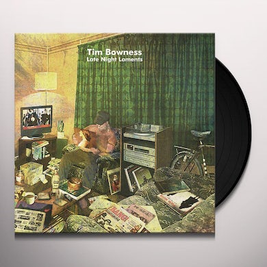 Tim Bowness LATE NIGHT LAMENTS Vinyl Record
