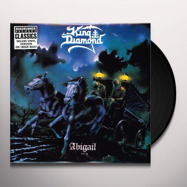 King Diamond ABIGAIL (BONUS TRACKS) Vinyl Record - Reissue