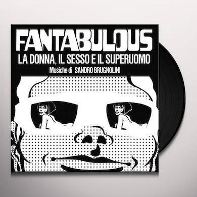 Sandro Brugnolini FANTABULOUS / Original Soundtrack Vinyl Record