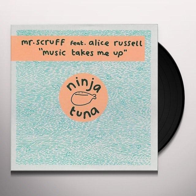 Mr. Scruff MUSIC TAKES ME UP Vinyl Record