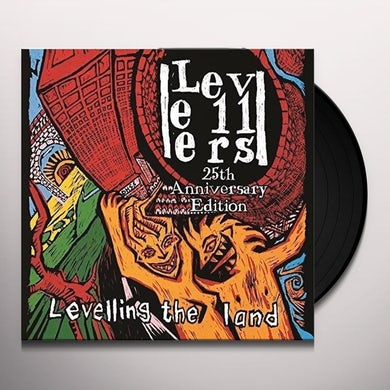 The Levellers LEVELLING THE LAND (25TH ANNIVERSARY EDITION) Vinyl Record