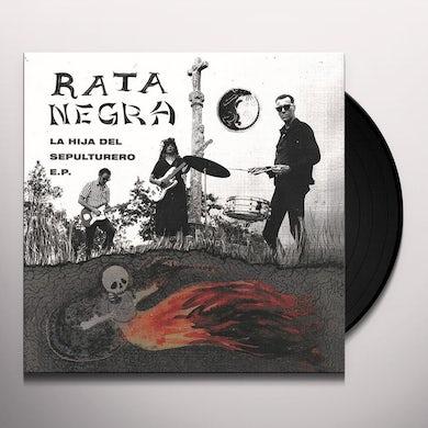 Rata Negra HIJA DEL SEPULTURERO Vinyl Record