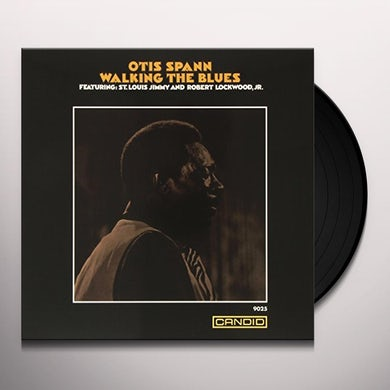 Otis Spann WALKING THE BLUES Vinyl Record