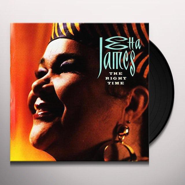 Etta James RIGHT TIME Vinyl Record