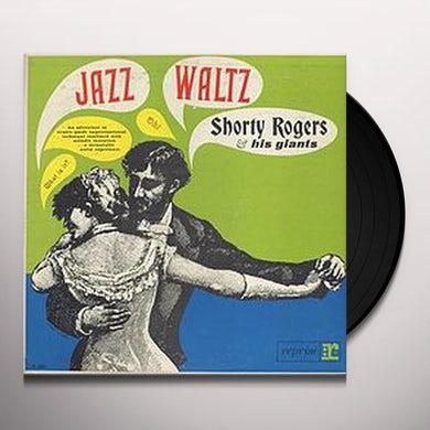 Shorty Rogers JAZZ WALTZ Vinyl Record