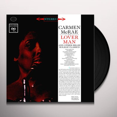 Carmen McRae SINGS LOVER MAN Vinyl Record