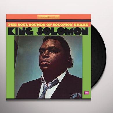 Solomon Burke KING SOLOMON Vinyl Record