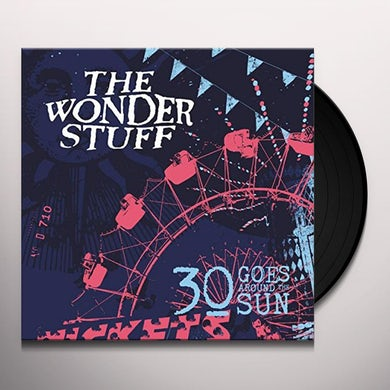 Wonder Stuff 30 GOES AROUND THE SUN Vinyl Record