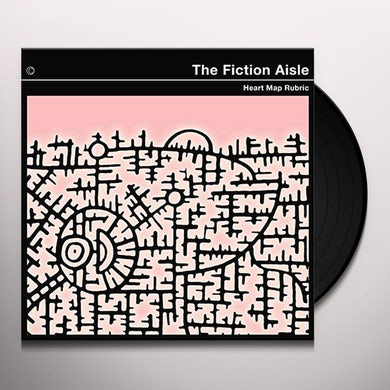 Fiction Aisle HEART MAP RUBRIC Vinyl Record