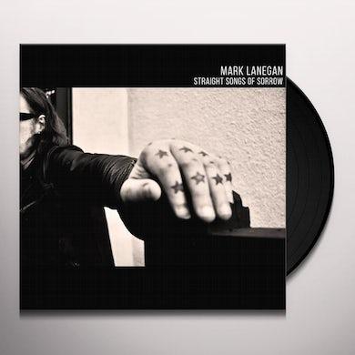 Mark Lanegan STRAIGHT SONGS OF SORROW (CLEAR VINYL) Vinyl Record