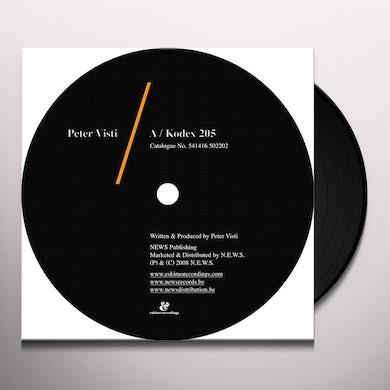 Peter Visti KODEX 205 / TOKYO BY NIGHT Vinyl Record
