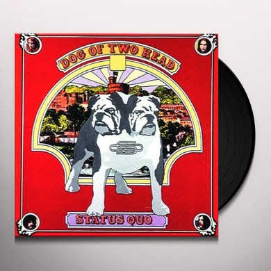 Status Quo DOG OF TWO HEAD Vinyl Record