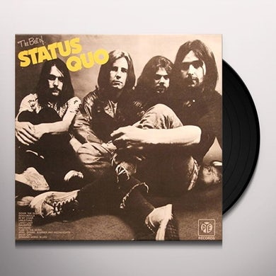 Status Quo BEST OF Vinyl Record