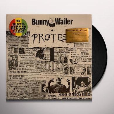 Bunny Wailer PROTEST Vinyl Record