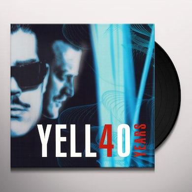 YELLO 40 YEARS Vinyl Record