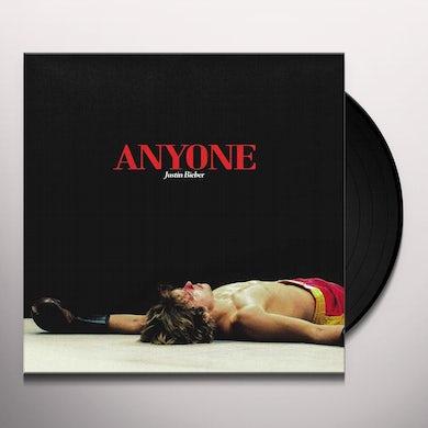 Justin Bieber ANYONE / HOLY Vinyl Record