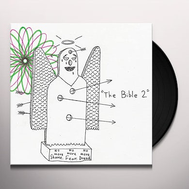 AJJ BIBLE 2 - Limited Edition Colored Vinyl Record