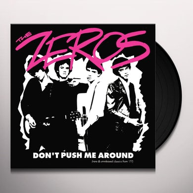 DON'T PUSH ME AROUND Vinyl Record