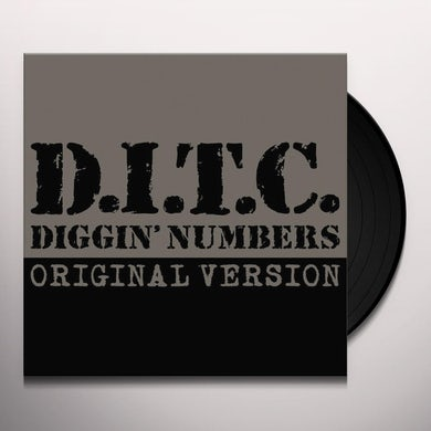D.I.T.C. DIGGIN' NUMBERS (LORD FINESSE REMIX) Vinyl Record
