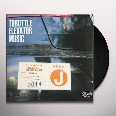 Throttle Elevator Music AREA J Vinyl Record