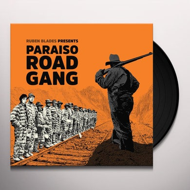 Ruben Blades PARAISO ROAD GANG Vinyl Record