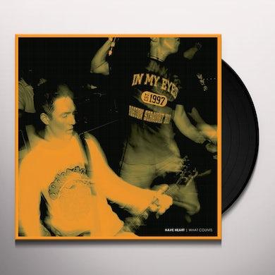WHAT COUNTS Vinyl Record