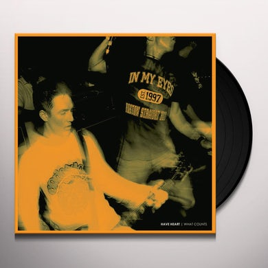 Have Heart WHAT COUNTS Vinyl Record