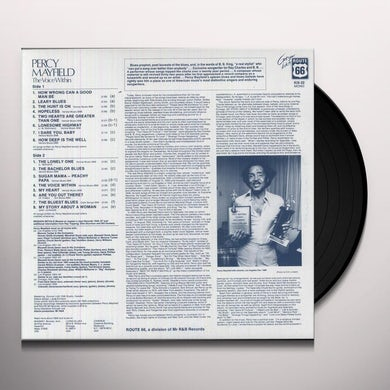 Percy Mayfield VOICE WITHIN Vinyl Record