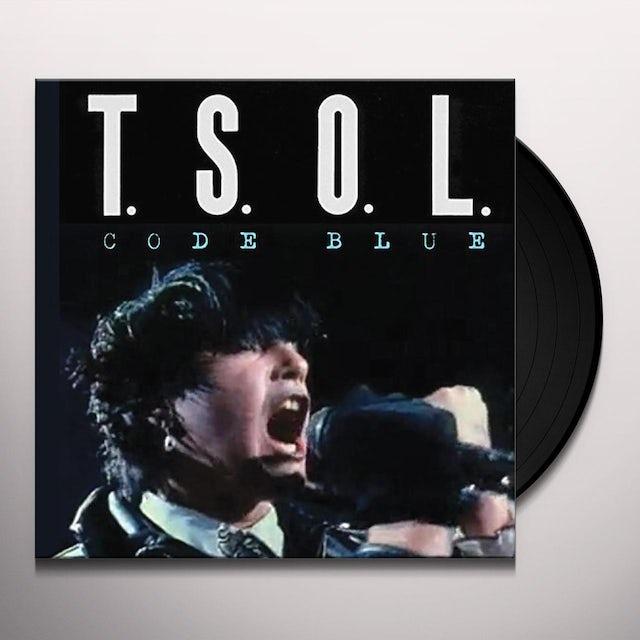 T.S.O.L. CODE BLUE Vinyl Record