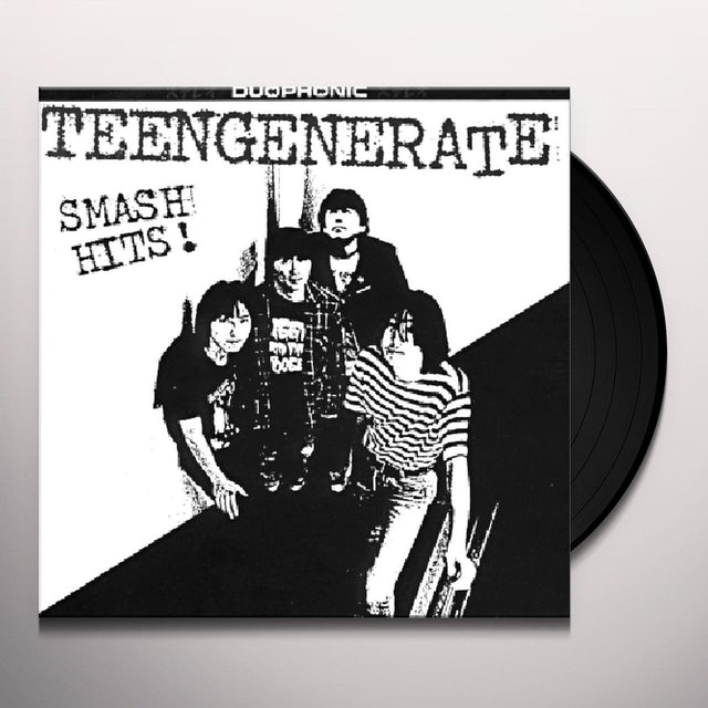 Teengenerate SMASH HITS Vinyl Record