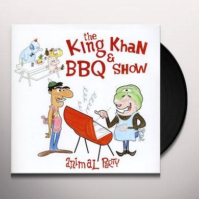 The King Khan & BBQ Show ANIMAL PARTY Vinyl Record