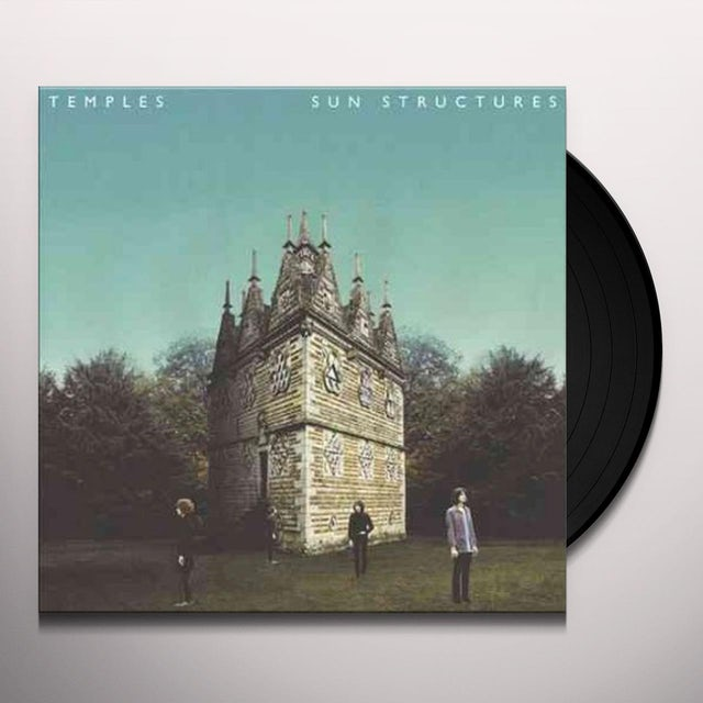 Temples SUN STRUCTURES Vinyl Record
