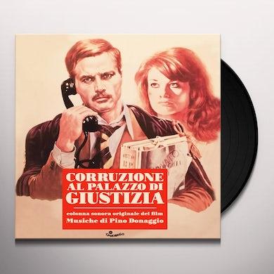 Pino Donaggio CORRUZIONE AL PALAZZO DI GIUSTIZIA / Original Soundtrack Vinyl Record