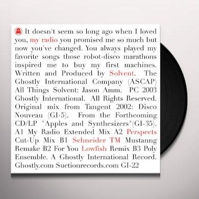 Solvent RADIO GA GA 1 Vinyl Record