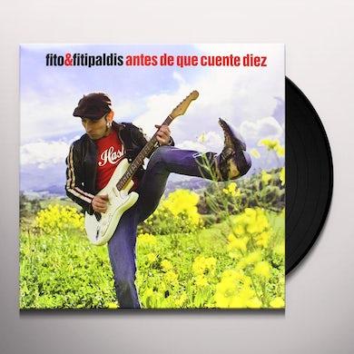 Fito & Fitipaldis ANTES DE QUE CUENTE DIEZ Vinyl Record