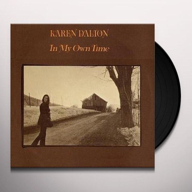 Karen Dalton IN MY OWN TIME Vinyl Record