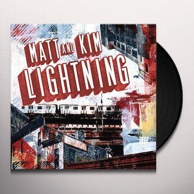 Matt & Kim LIGHTNING Vinyl Record
