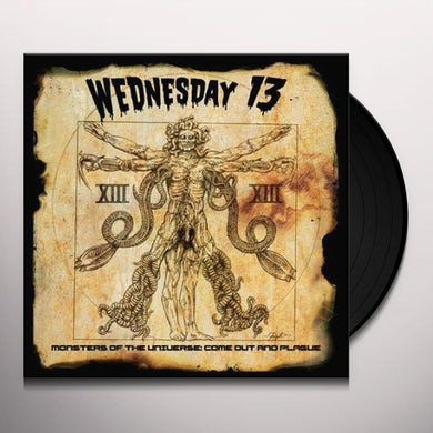 Wednesday 13 MONSTERS OF THE UNIVERSE: COME OUT AND PLAGUE Vinyl Record