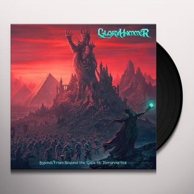 Gloryhammer LEGENDS FROM BEYOND THE GALACTIC TERRORVORTEX Vinyl Record