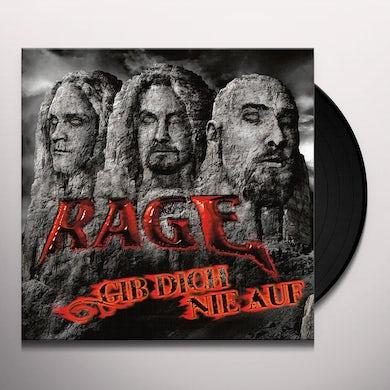 Rage GIB DICH NIE AUF Vinyl Record