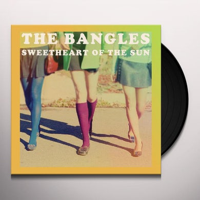 The Bangles SWEETHEART OF THE SUN Vinyl Record